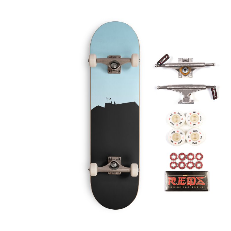 Solitary Accessories Complete - Pro Skateboard by I am a graphic designer