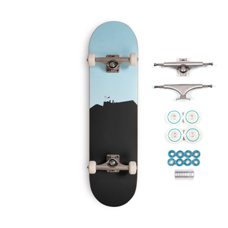 Solitary Accessories Complete - Basic Skateboard by I am a graphic designer