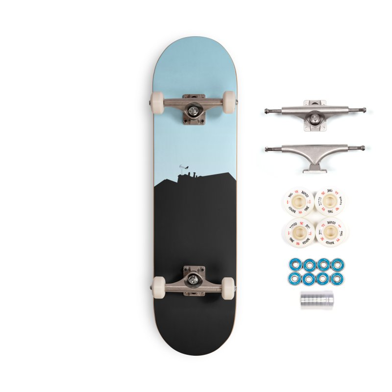 Solitary Accessories Complete - Premium Skateboard by I am a graphic designer