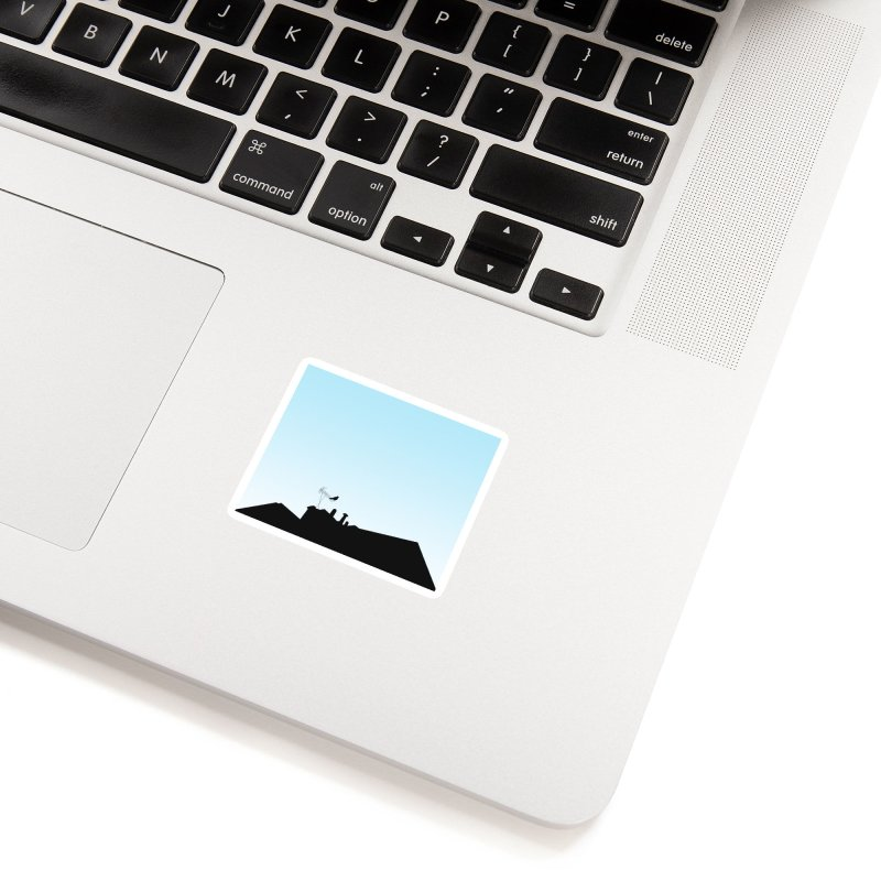 Solitary Accessories Sticker by I am a graphic designer