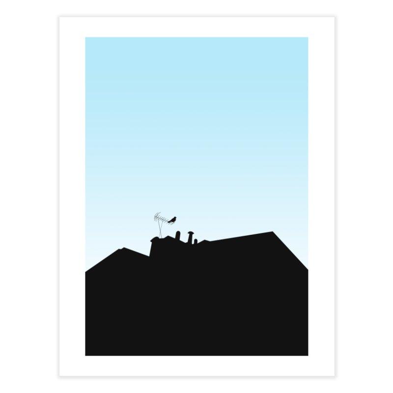 Solitary Home Fine Art Print by I am a graphic designer