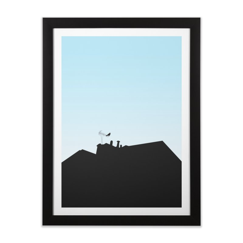 Solitary Home Framed Fine Art Print by I am a graphic designer