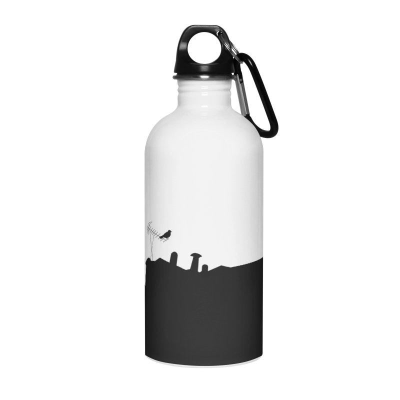 Solitary Accessories Water Bottle by I am a graphic designer
