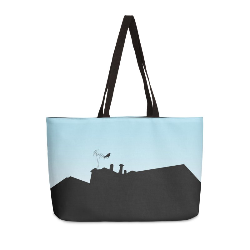 Solitary Accessories Weekender Bag Bag by I am a graphic designer