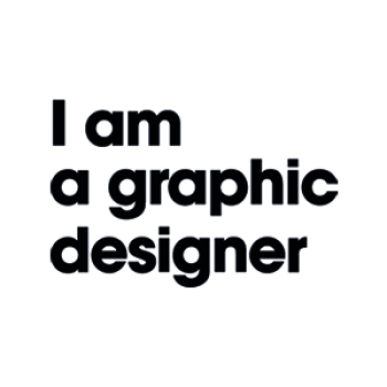 I am a graphic designer Logo