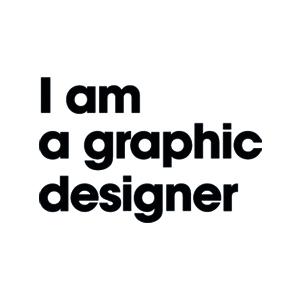 I am a graphic designer Logo
