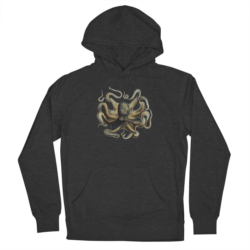 Octopus one Women's Pullover Hoody by Iacobaeus's Artist Shop