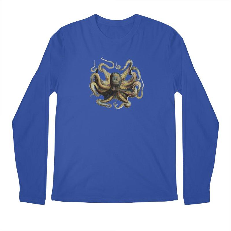 Octopus one Men's Longsleeve T-Shirt by Iacobaeus's Artist Shop