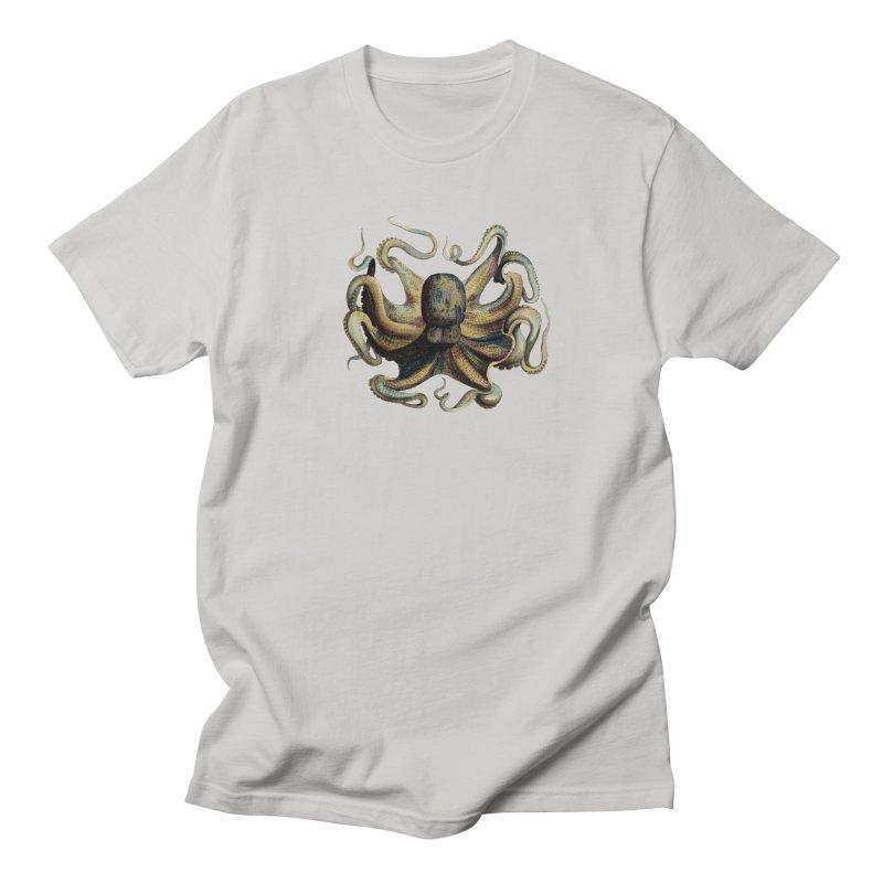 Octopus one Men's T-shirt by Iacobaeus's Artist Shop