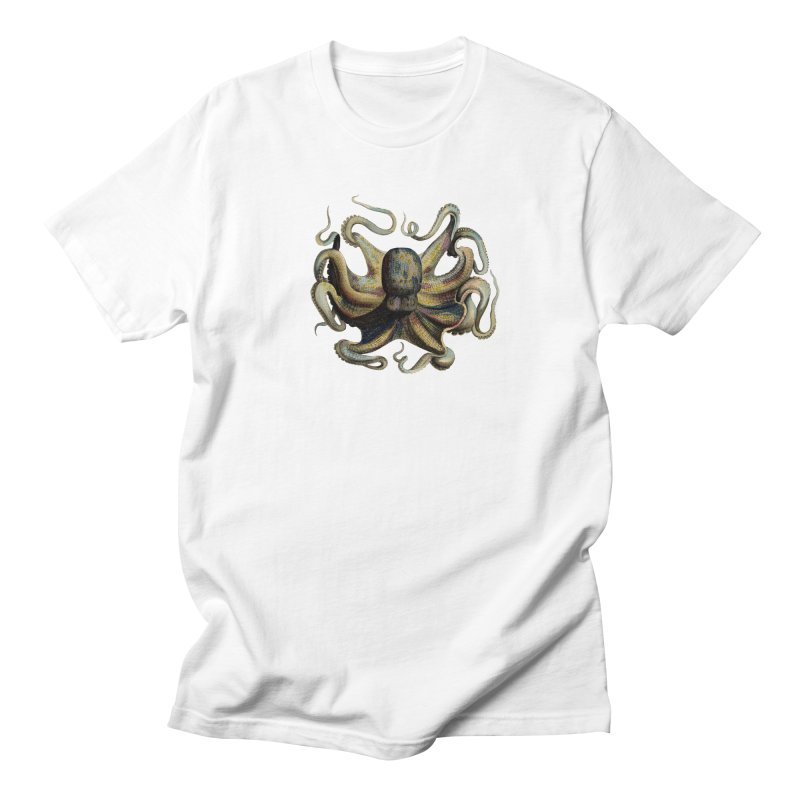 Octopus one Men's T-shirt by Iacobaeus's Artist Shop