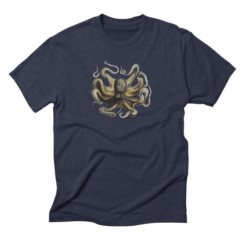 Octopus one Men's Triblend T-Shirt by Iacobaeus's Artist Shop
