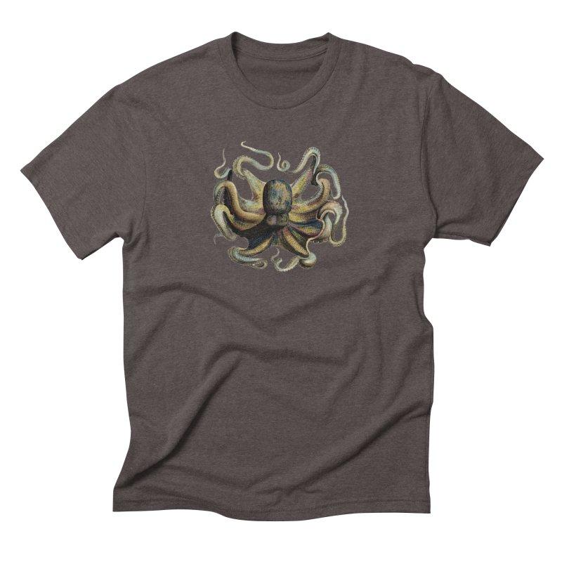Octopus one Men's Triblend T-Shirt by Iacobaeus's Artist Shop