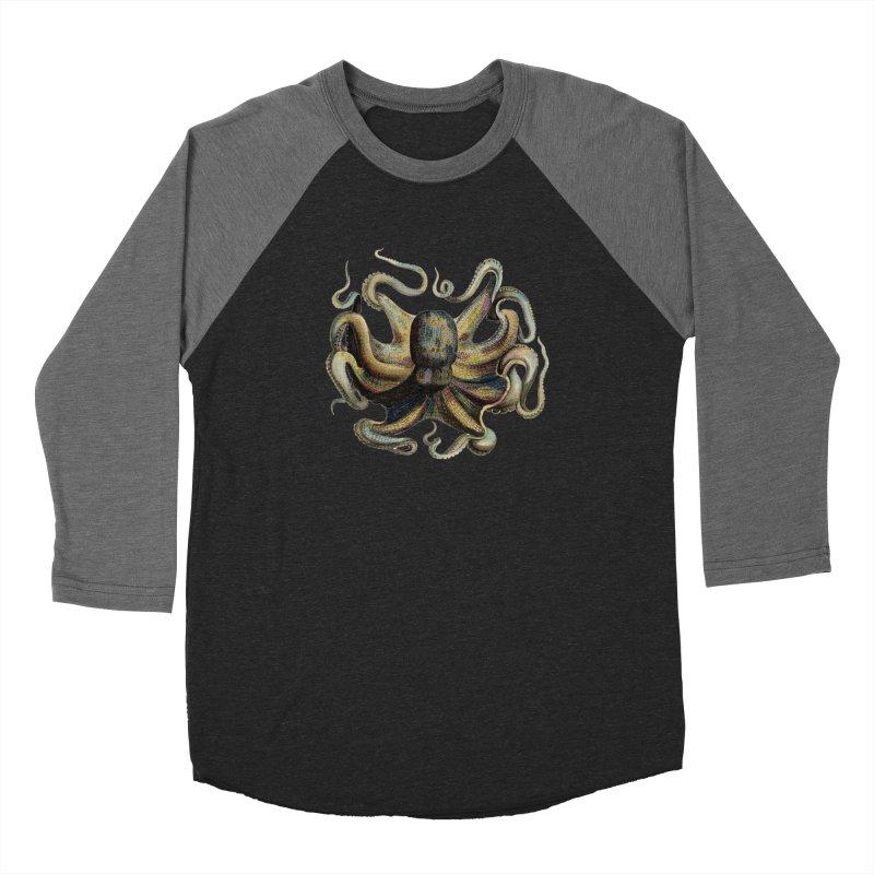 Octopus one Men's Baseball Triblend T-Shirt by Iacobaeus's Artist Shop
