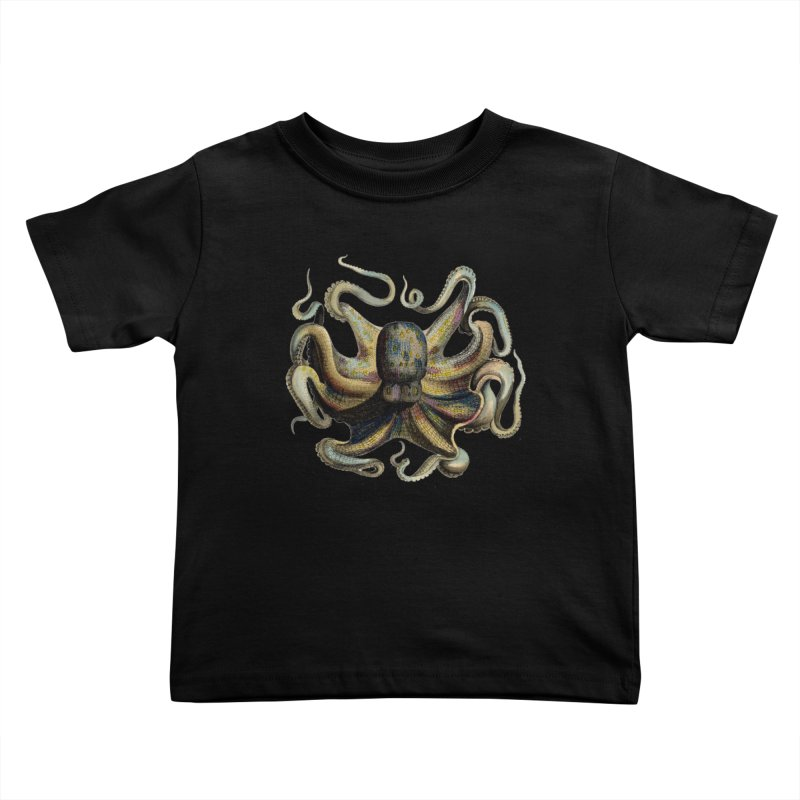 Octopus one Kids Toddler T-Shirt by Iacobaeus's Artist Shop