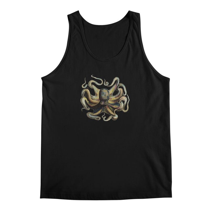 Octopus one Men's Tank by Iacobaeus's Artist Shop