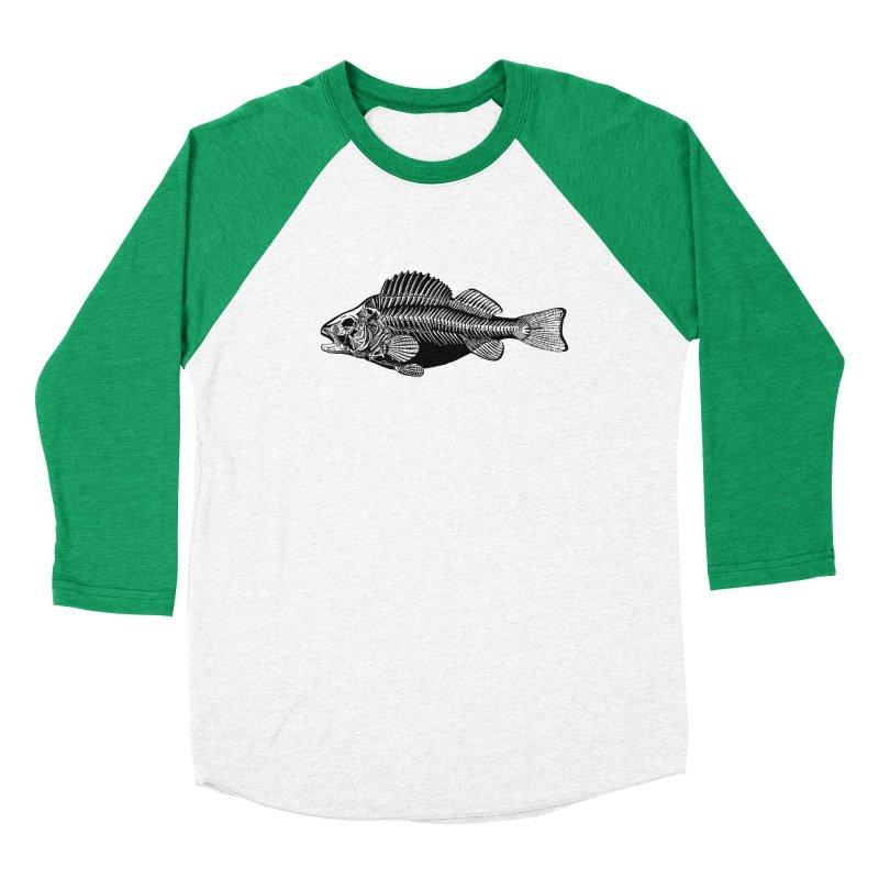 Fish. Dead fish. Women's Baseball Triblend T-Shirt by Iacobaeus's Artist Shop