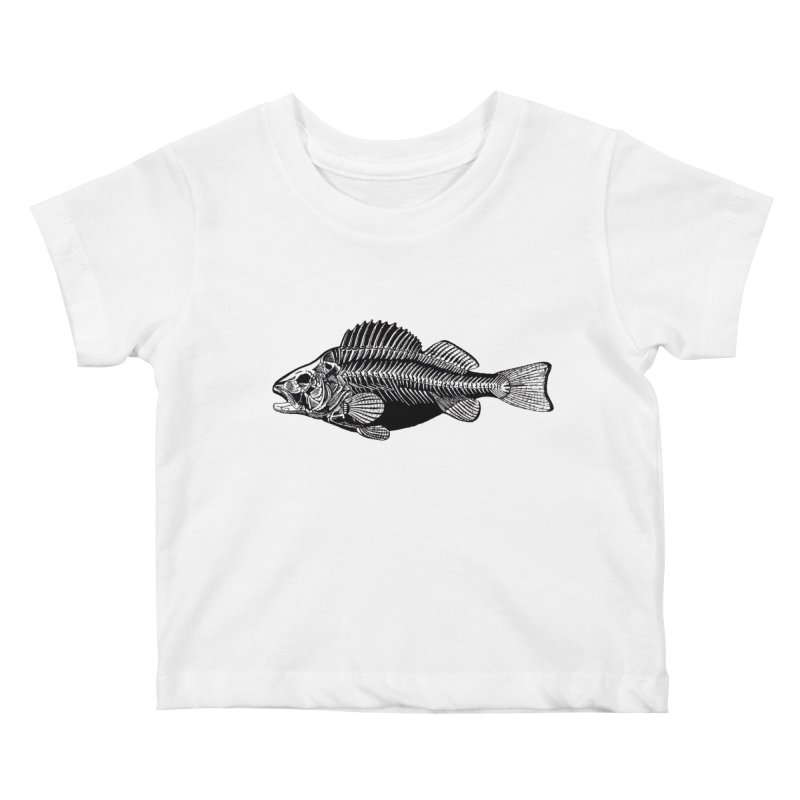 Fish. Dead fish. Kids Baby T-Shirt by Iacobaeus's Artist Shop