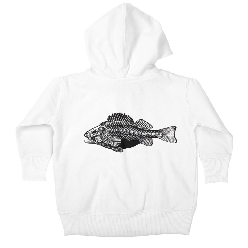 Fish. Dead fish. Kids Baby Zip-Up Hoody by Iacobaeus's Artist Shop