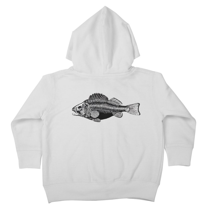 Fish. Dead fish. Kids Toddler Zip-Up Hoody by Iacobaeus's Artist Shop