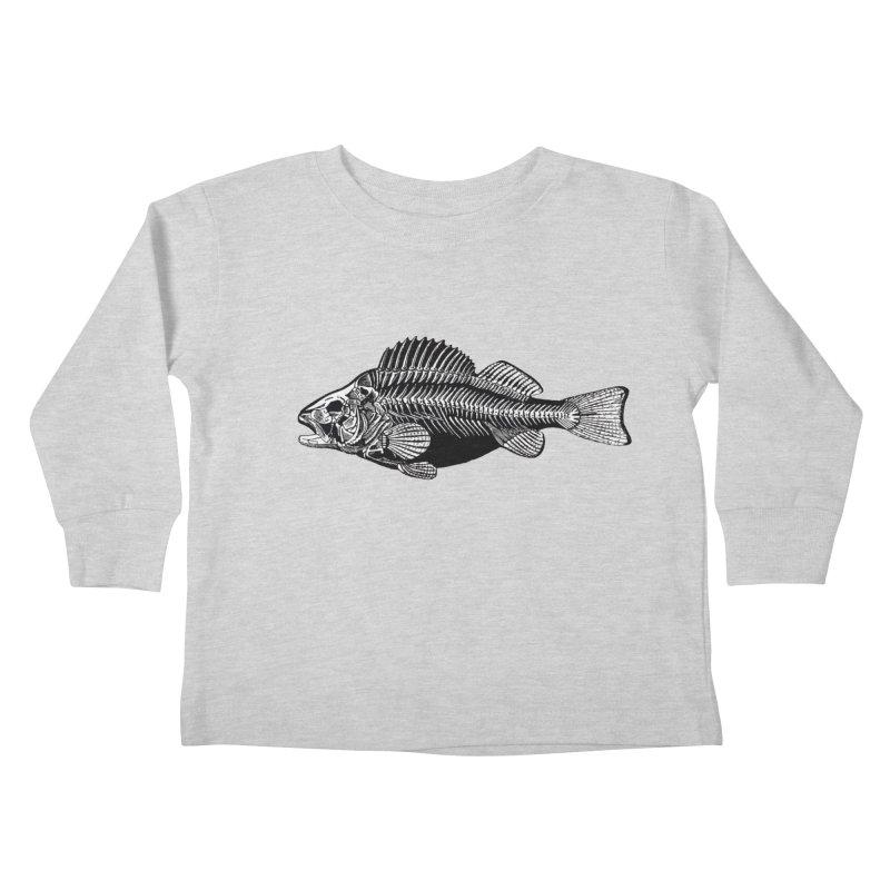 Fish. Dead fish. Kids Toddler Longsleeve T-Shirt by Iacobaeus's Artist Shop