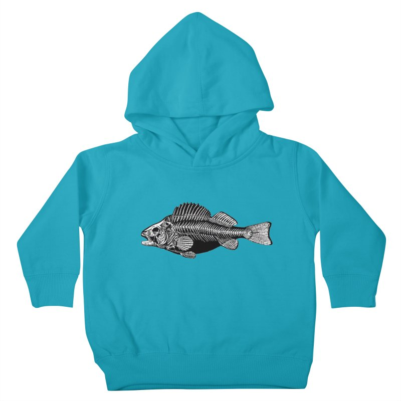 Fish. Dead fish. Kids Toddler Pullover Hoody by Iacobaeus's Artist Shop