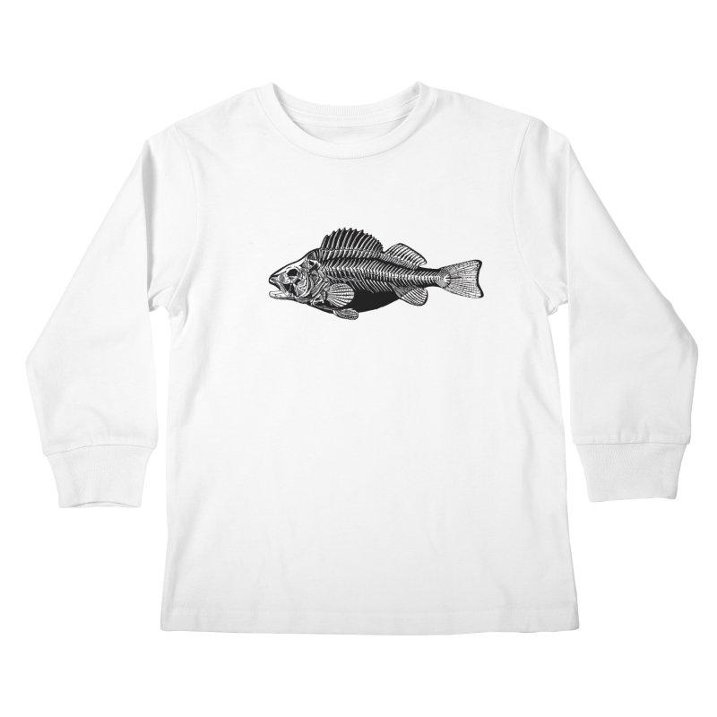 Fish. Dead fish. Kids Longsleeve T-Shirt by Iacobaeus's Artist Shop