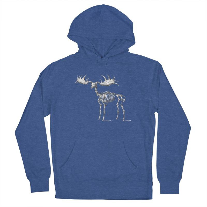 Elk skeleton Men's Pullover Hoody by Iacobaeus's Artist Shop