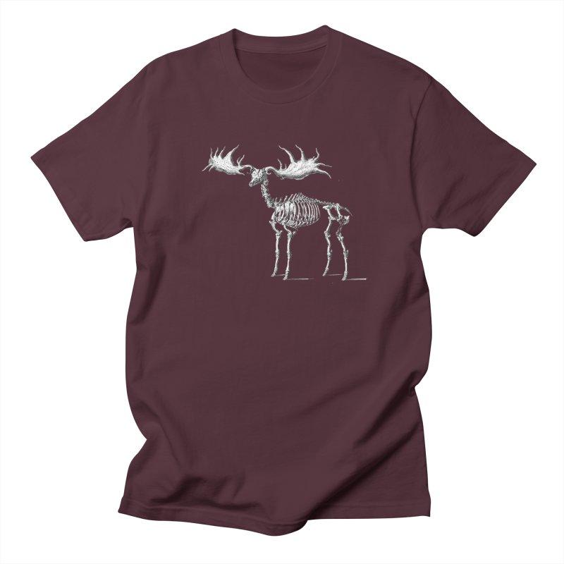 Elk skeleton Men's T-Shirt by Iacobaeus's Artist Shop