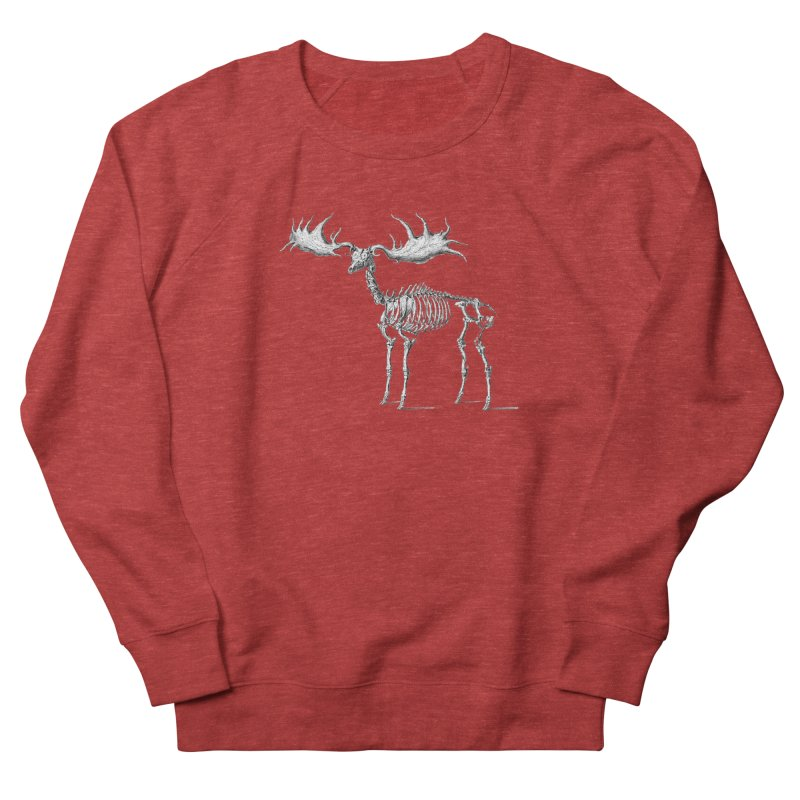 Elk skeleton Women's Sweatshirt by Iacobaeus's Artist Shop