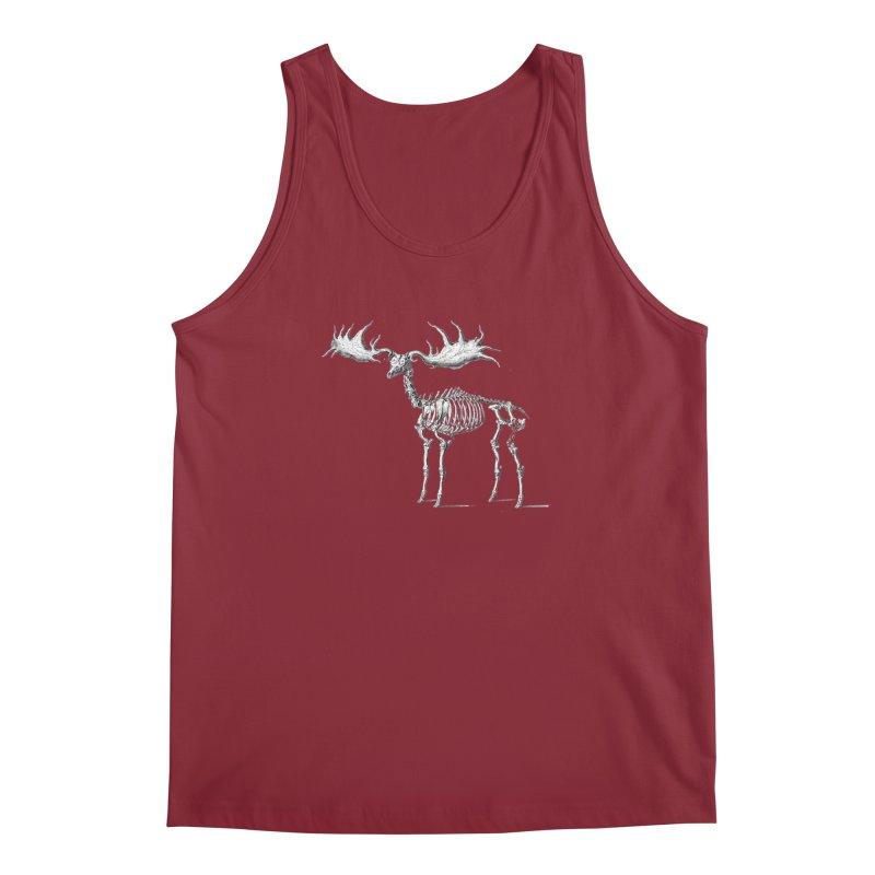 Elk skeleton Men's Tank by Iacobaeus's Artist Shop