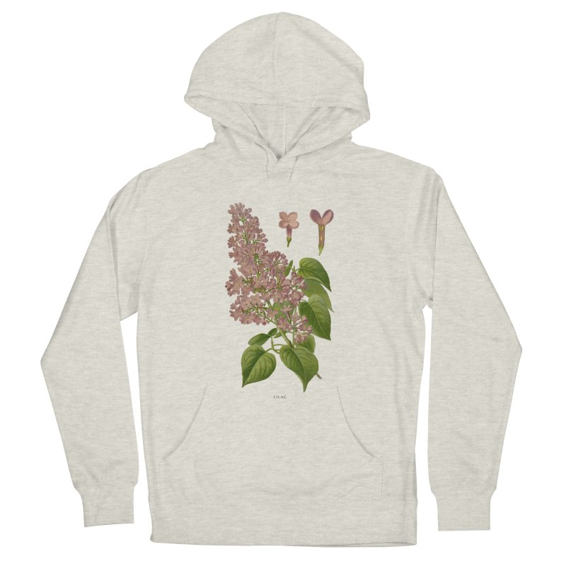 Lilac Men's Pullover Hoody by Iacobaeus's Artist Shop
