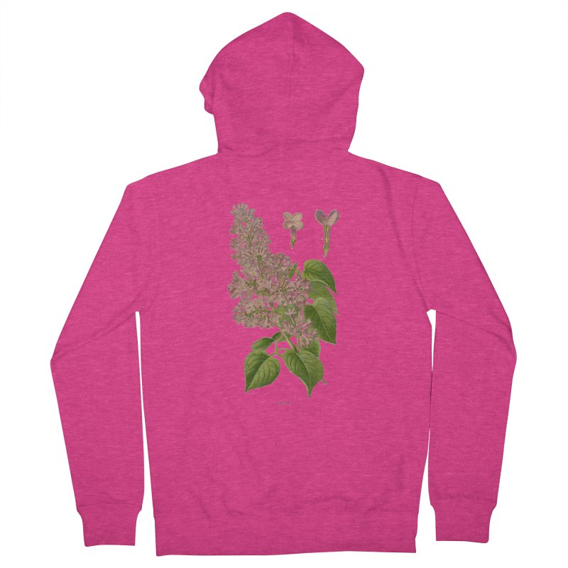 Lilac Women's Zip-Up Hoody by Iacobaeus's Artist Shop