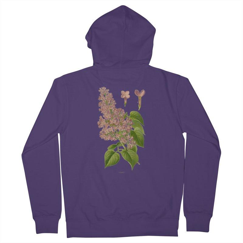 Lilac Women's Zip-Up Hoody by Iacobaeus's Artist Shop