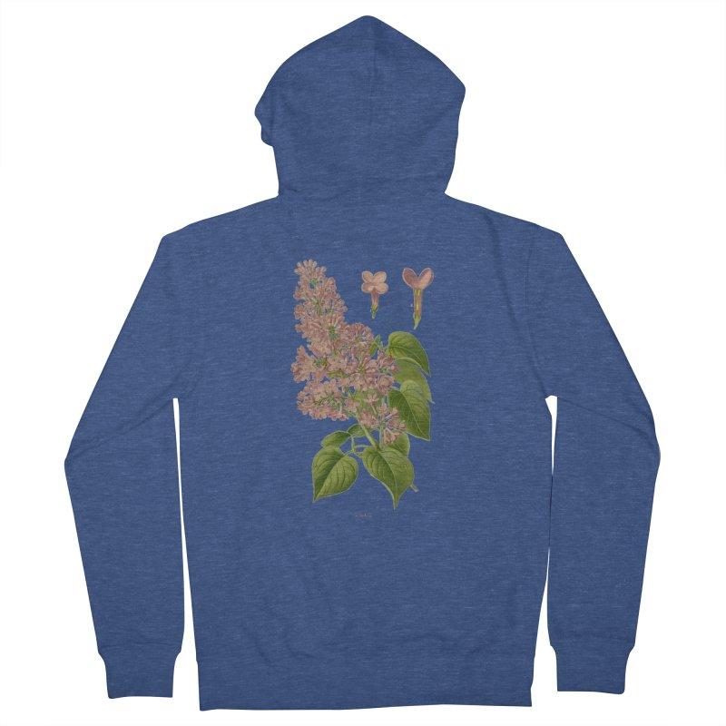 Lilac Men's Zip-Up Hoody by Iacobaeus's Artist Shop