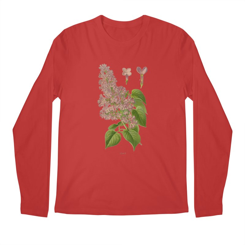Lilac Men's Longsleeve T-Shirt by Iacobaeus's Artist Shop