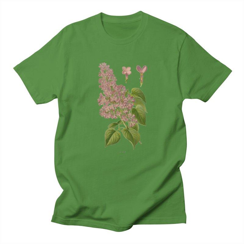 Lilac Men's T-Shirt by Iacobaeus's Artist Shop