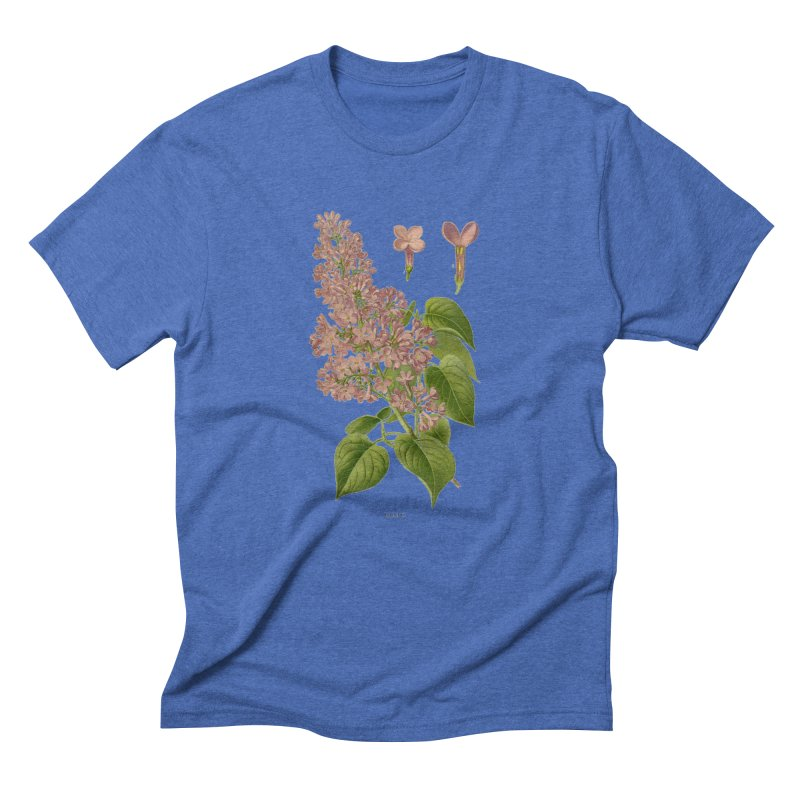 Lilac Men's Triblend T-Shirt by Iacobaeus's Artist Shop