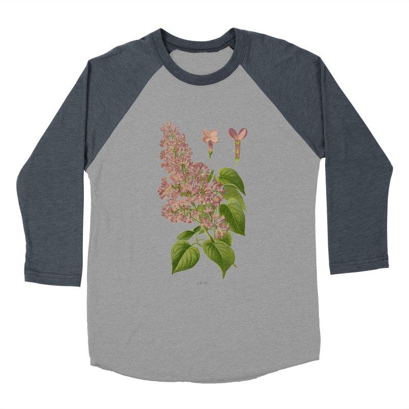 Lilac Women's Baseball Triblend T-Shirt by Iacobaeus's Artist Shop
