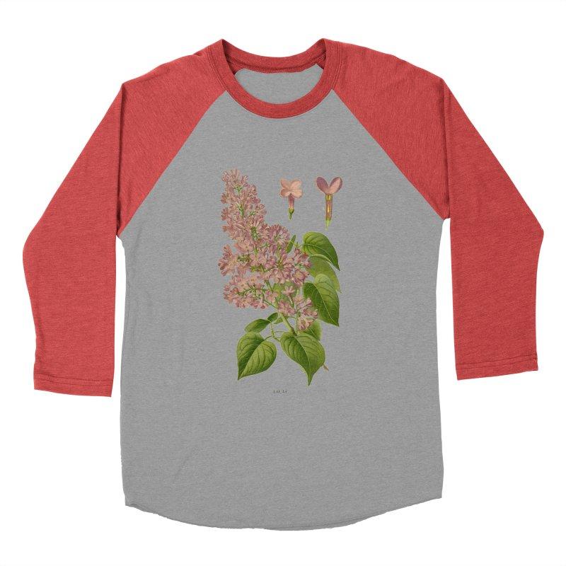 Lilac Men's Baseball Triblend T-Shirt by Iacobaeus's Artist Shop