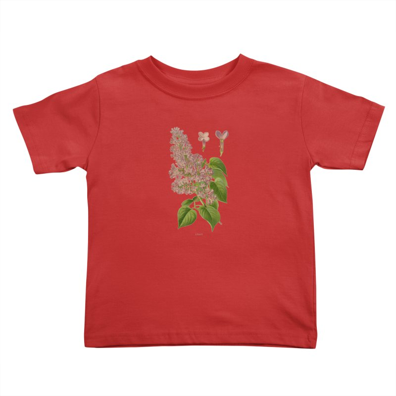 Lilac Kids Toddler T-Shirt by Iacobaeus's Artist Shop