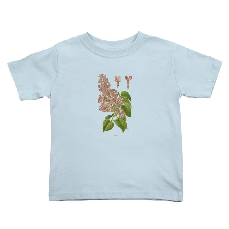 Lilac Kids Toddler T-Shirt by Iacobaeus's Artist Shop