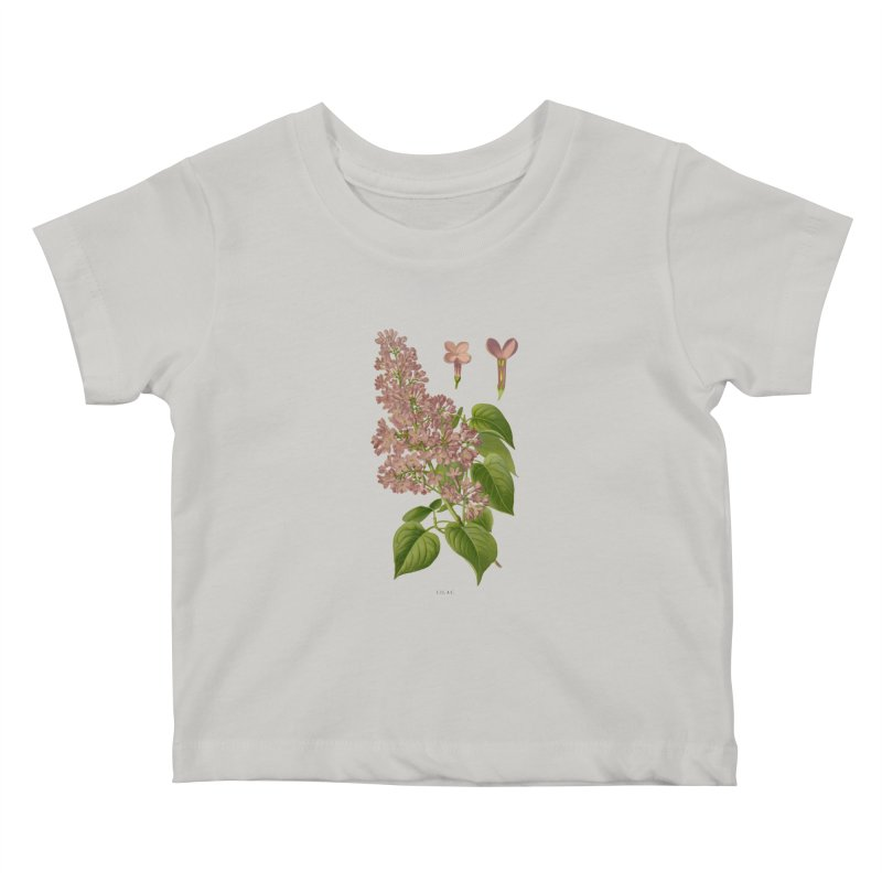 Lilac Kids Baby T-Shirt by Iacobaeus's Artist Shop