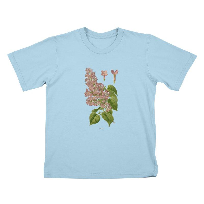 Lilac Kids T-Shirt by Iacobaeus's Artist Shop