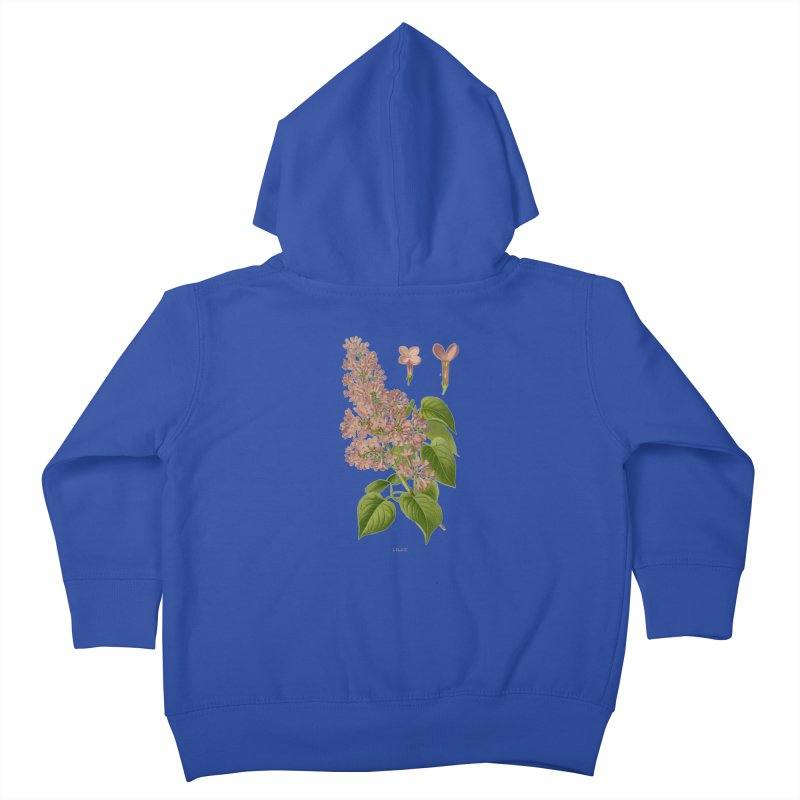 Lilac Kids Toddler Zip-Up Hoody by Iacobaeus's Artist Shop