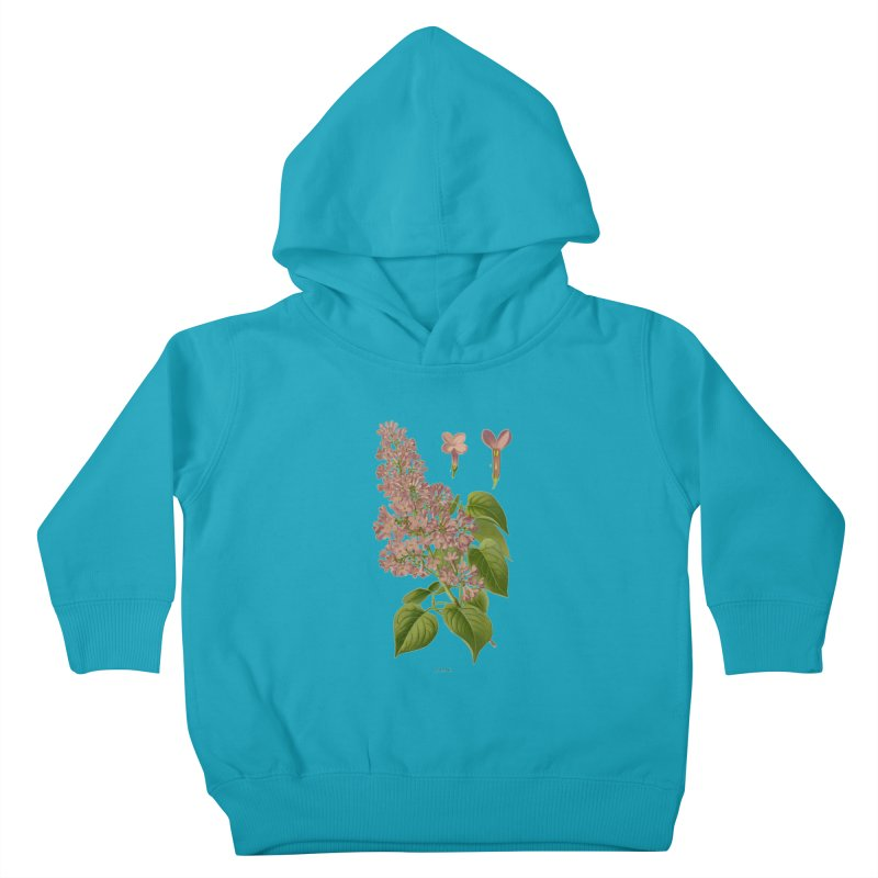 Lilac Kids Toddler Pullover Hoody by Iacobaeus's Artist Shop