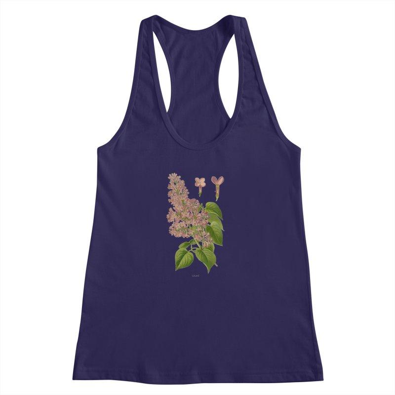 Lilac Women's Racerback Tank by Iacobaeus's Artist Shop