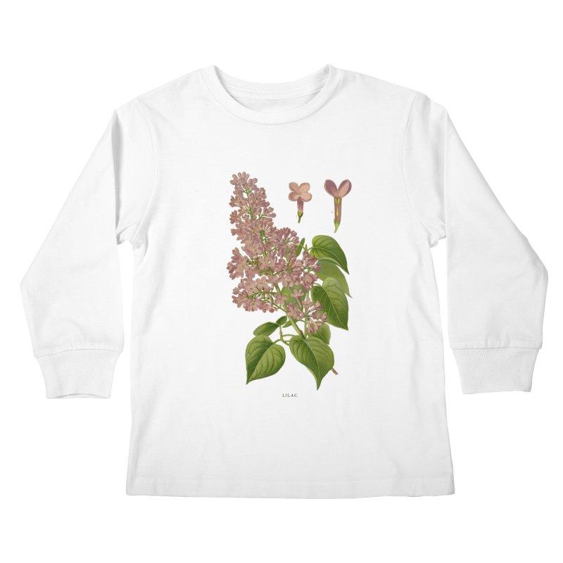 Lilac Kids Longsleeve T-Shirt by Iacobaeus's Artist Shop