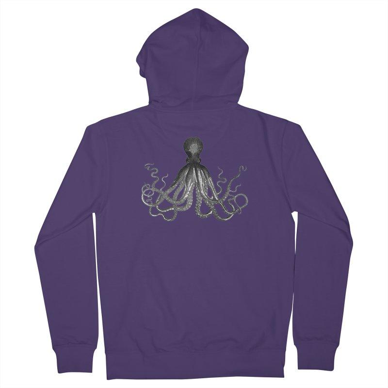 Octopus Two Women's Zip-Up Hoody by Iacobaeus's Artist Shop