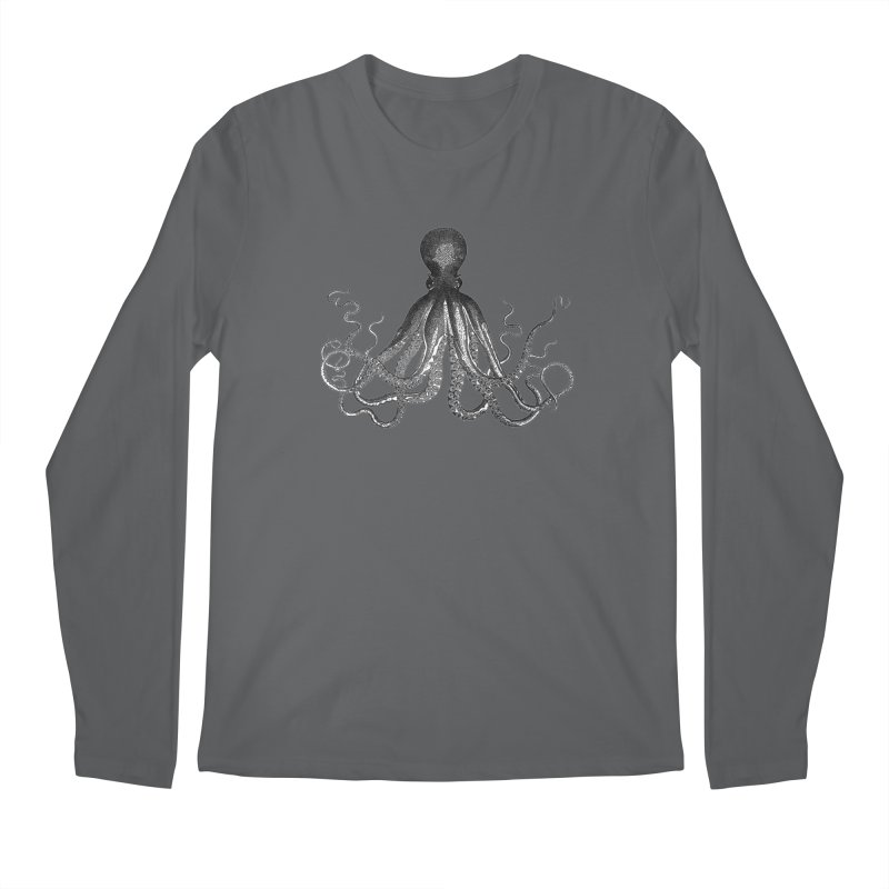 Octopus Two Men's Longsleeve T-Shirt by Iacobaeus's Artist Shop