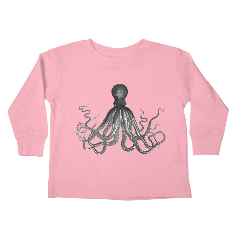 Octopus Two Kids Toddler Longsleeve T-Shirt by Iacobaeus's Artist Shop